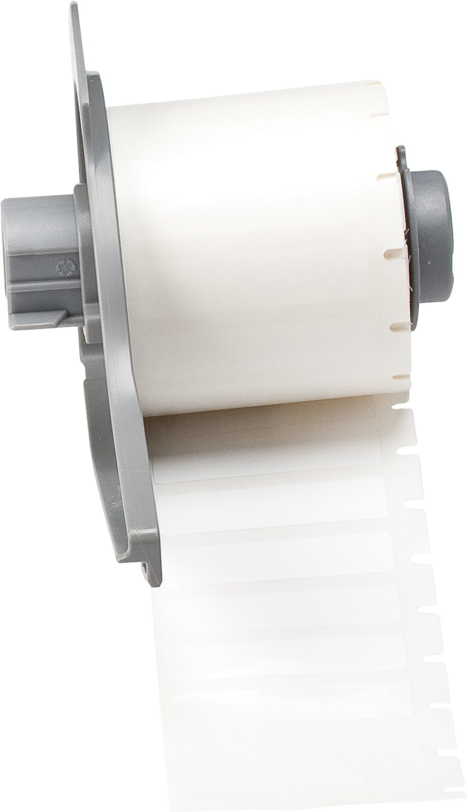 Brady M71-45-422 Permanent Polyester BMP71 Labels , White (500 Labels per Roll, 1 Roll per Package)
