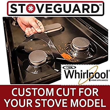 Whirlpool Stove Protectors - Stove Top Protector for Whirlpool Gas Ranges - Ultra Thin Easy Clean Stove Liner
