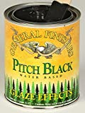 General Finishes Water Based Glaze Effects Pitch Black Quart