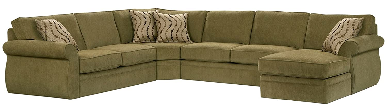Super Broyhill Veronica Sectional Sofa With Right Arm Facing Chaise Dailytribune Chair Design For Home Dailytribuneorg