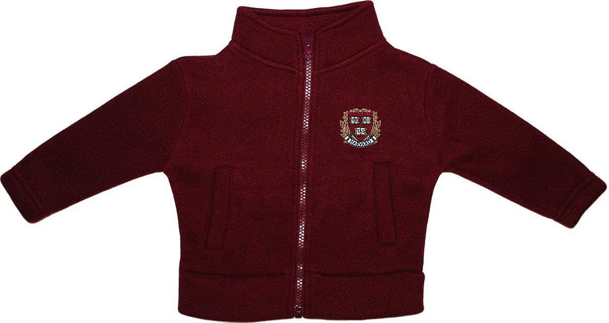 クリエイティブニットウェアBaby Harvard Universityフリースファスナー付きジャケット 24 Months マルーン B01N7W9C3Z