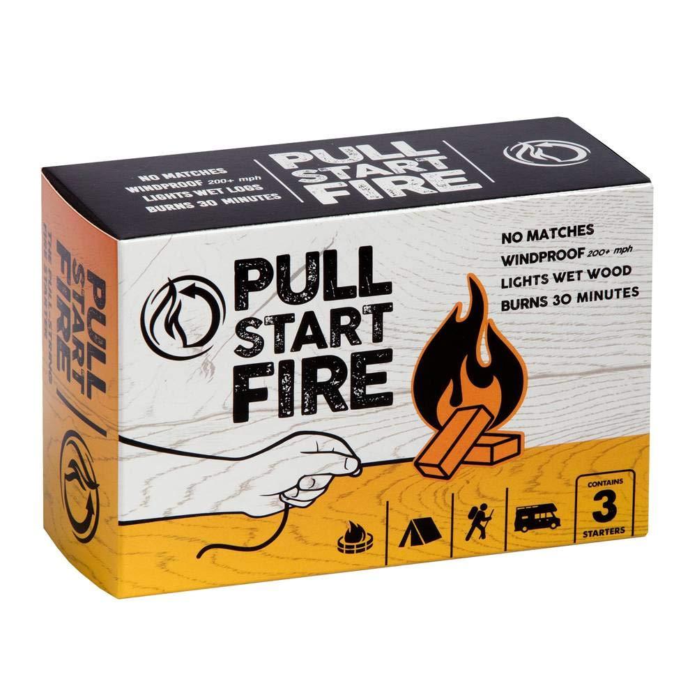Pull Start Fire Pull String Firestarter (3 Pack) by Better Horse, Inc.