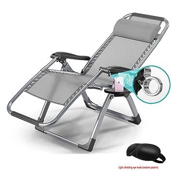 ZIHENGUO Silla Plegable reclinable, sillas reclinables de ...