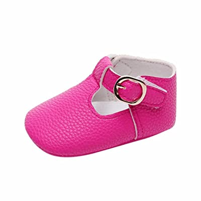 Witspace Newborn Baby Girl Boy Soft Sole Crib Shoes Toddler Kids Princess Shoes: Clothing