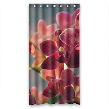 Beautiful Charming Delicate Orchids Shower Curtain Measure 36quot