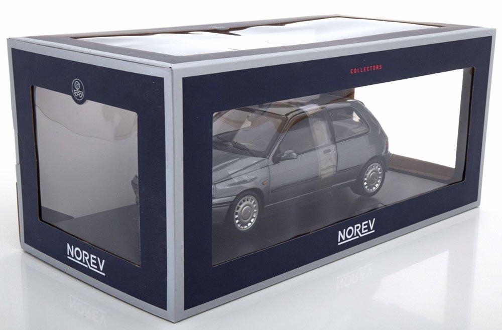 Norev - Maqueta de Renault Clio 16S Phase 1 - 1991 (Escala 1/18, 185234, Gris: Amazon.es: Juguetes y juegos