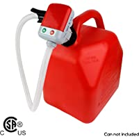 Second Gen TERAPUMP TRFA01 - No More Gas Can Lifting/Fuel Transfer Pump Fitting numerous Gas Cans (Parent) 1PK Red C…