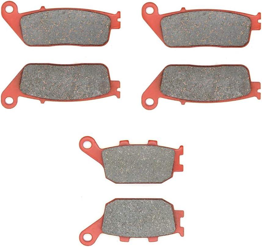 FW//FX//FY//F1-F6//F21//F22//F2Y //CBF 1000 MEXITAL Pastiglie freno Ceramica organico Posteriore per CB 600 F Hornet ABS Non ABS 06-15 Non ABS //CBF 600 N//S 04-09 SA NA 04-06 98-06