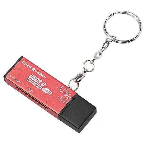 Ranuw USB 3.0 SD TF SDXC SDHC Micro SD Lector de Tarjetas de ...