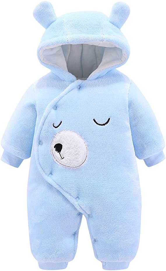 Racoon Baby-M/ädchen Lara Heart Winter Suit Girl Snowsuit