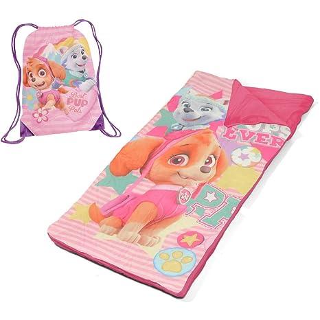 L&M - Juego de alfombrillas para niños con diseño de Patrulla Canina de níquel rosa,