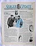 img - for Serger Update Vol. 7 No. 9 December 1993 book / textbook / text book