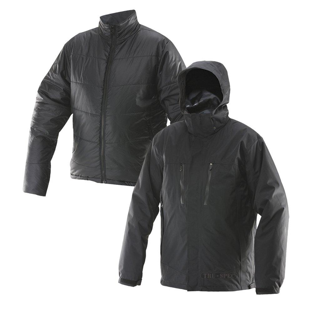 TRU-SPEC 2497003 H2O Proof Element 3-in-1 Jacket, Small Regular, Black/Black Inner Jacket