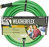 Swan Products SNWF58100 Weatherflex Medium Duty All Temperature Use Garden Hose 100 ft, 5/8'' diameter