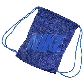 b323aa86a655 Mens Ladies Kids Unisex Genuine Nike Graphic Gym Sack Pack Bag Accessories  (Blue1