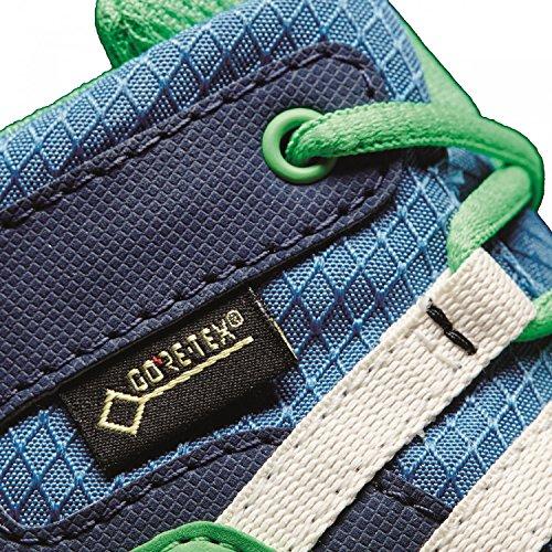 Adidas terrex mid gtx i–Chaussures montantes de senderismopara enfants, bleu–(azubas/blatiz/Verene), -25