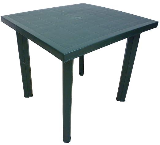 Tavoli Di Plastica Quadrati.Sf Savino Filippo Tavolo Tavolino Quadrato In Resina Di Plastica