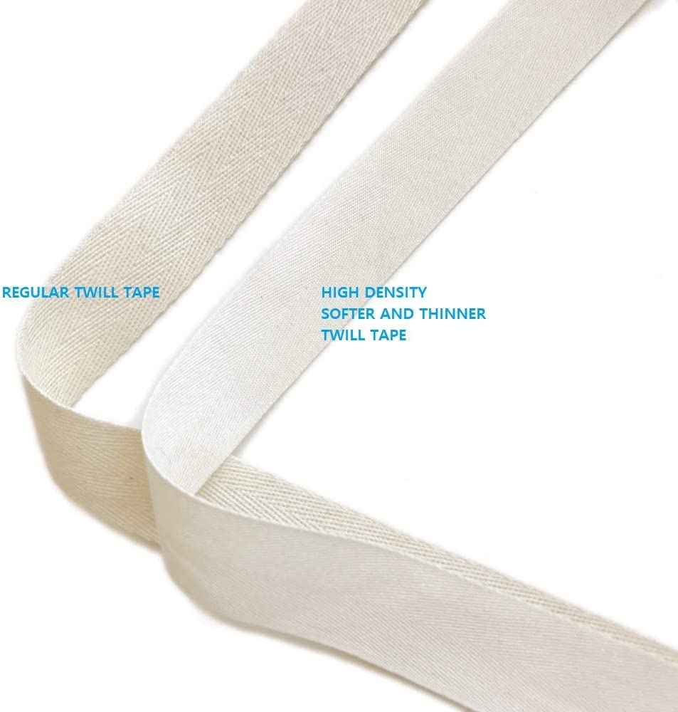 1 Over Kleshas Natural Soft and Fine Cotton Twill Tape