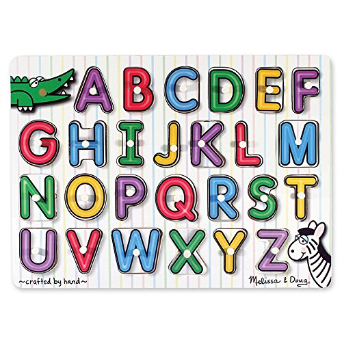 NSIDE ALPHABET PEG PUZZLE (Set of 3) (See Inside Alphabet Puzzle)