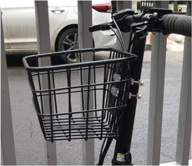 Spewhel - Cesta frontal para bicicleta XIAOMI Qicycle Electric Bike (hierro, malla): Amazon.es: Deportes y aire libre