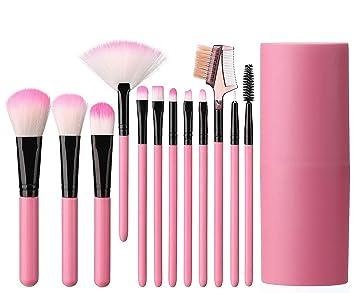 bd685f291a97 Elisel Makeup Brush Sets 12 Pcs Makeup Brushes Travel makeup brush set Eye  shadow brush,...