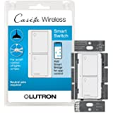 Lutron Caseta Smart Home Switch, Works with Alexa, Apple HomeKit, Google Assistant | 6-Amp, for Ceiling Fans, Exhaust Fans, L