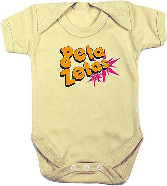 Camisetas EGB Body Bebé Peta Zetas ochenteras 80Žs Retro: Amazon.es: Ropa y accesorios