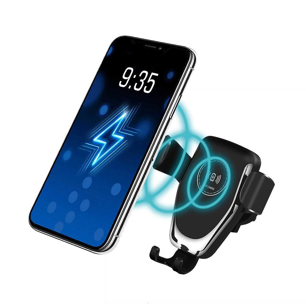 5 W pour t/él/éphone Qi 10 W pour Galaxy Note 10//S10//S9//S8 FDGAO Chargeur de Voiture sans Fil Rapide 7,5 W Compatible avec Apple iPhone 11 Pro//11 Pro Max//XR//XS Max//X//8