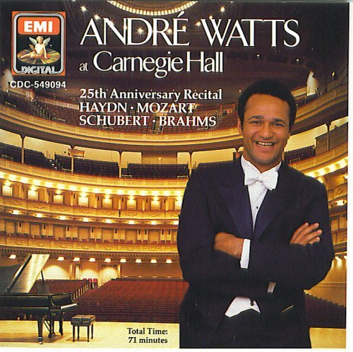 (Andre Watts At Carengie Hall 25th Anniversary Recital)