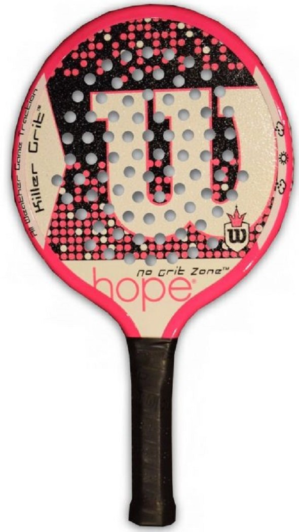 Amazon.com : Wilson Hope (Limited Edition) Paddle : Paddle Tennis Equipment : Sports & Outdoors