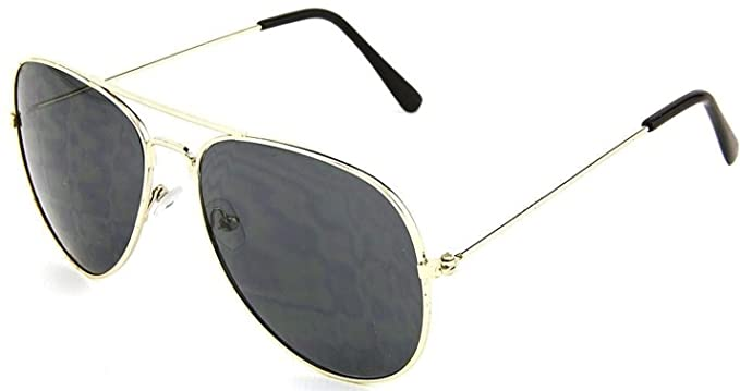 50a3384d6ef4c Amazon.com  Aviator Police Sunglasses  Clothing