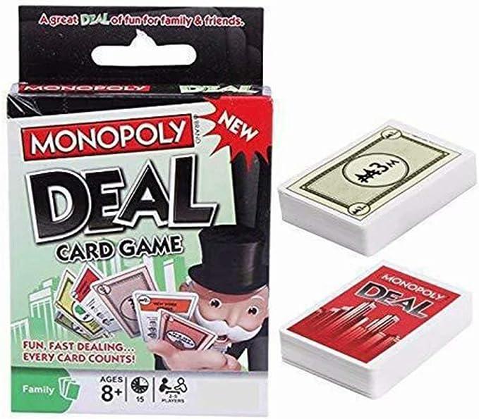 Monopoly Deal - Juego de cartas divertidos rompecabezas: Amazon.es: Juguetes y juegos