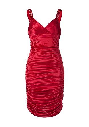6f6e29ceccc9 APART Damen Kleid Knielang Kurzes Jerseykleid  Amazon.de  Bekleidung