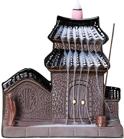 家庭用アロマディフューザー 中国建築セラミックグリーンホームアロマ香香炉還流