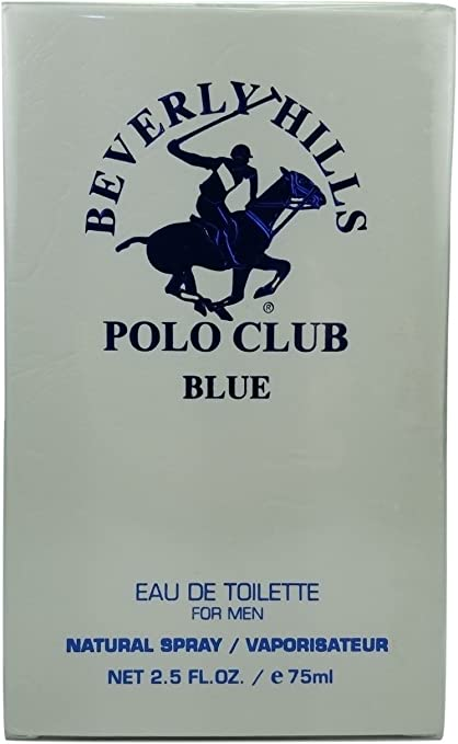Beverly Hills Polo Club Blue - Agua de colonia para hombre, color ...