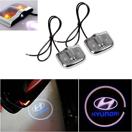 Amazon Champled For Hyundai Laser Projector Logo Illuminated