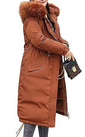 buy popular f0d77 4e83c MAGIMODAC Wintermantel Steppmantel Daunenmantel Kapuzenmantel Damenmantel  Parka Warm Lang 36 38 40 42 44 46