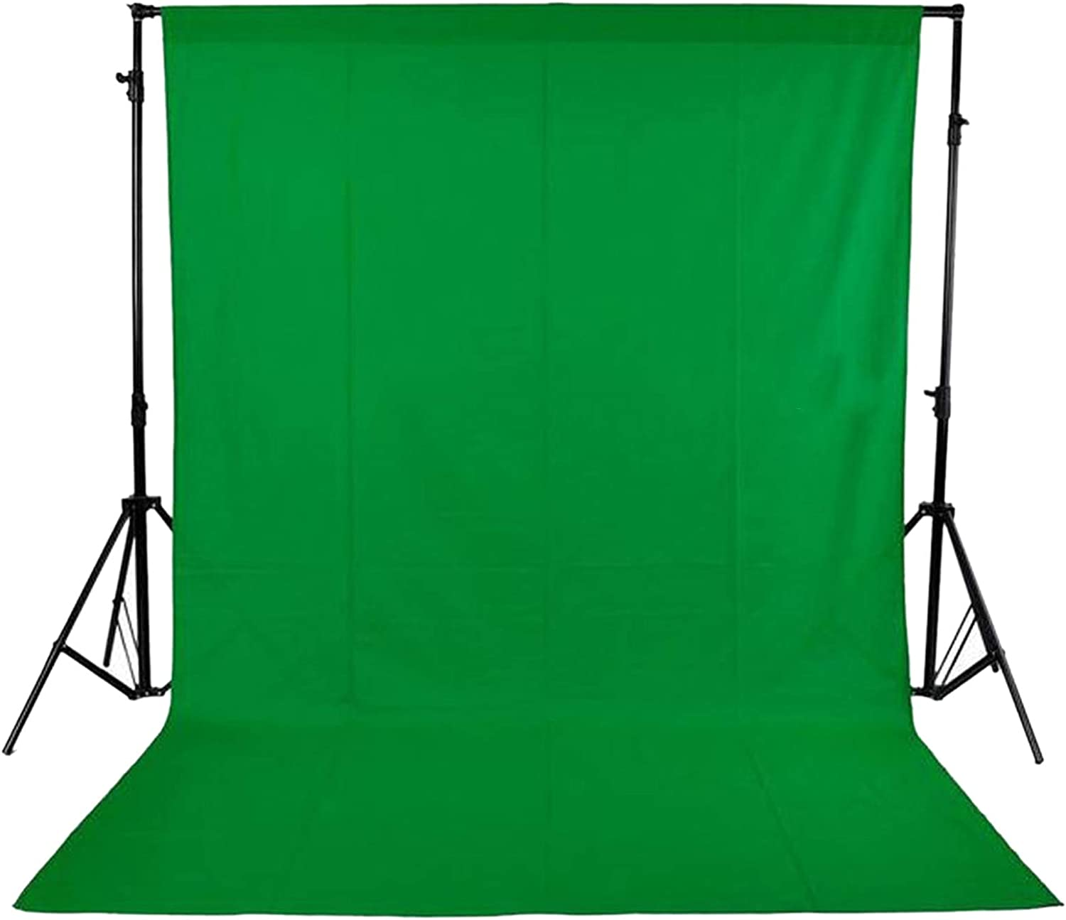 Andoer Photography Studio Video 1.8 * 2.7 m / 5.9 * 8.8ft Non Woven Fabric Background Screen - Green