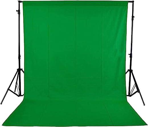 شاشة خلفية من القماش غير المنسوج للصور والفيديو الخاص بالستوديو من اندوير - اخضر، 1.8 × 2.7 متر/ 5.9 × 8.8 قدم Andoer