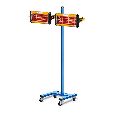 MSW IR-DRYER2000.2 Secador de Pintura Infrarrojo para Carrocería Coche (2200 W