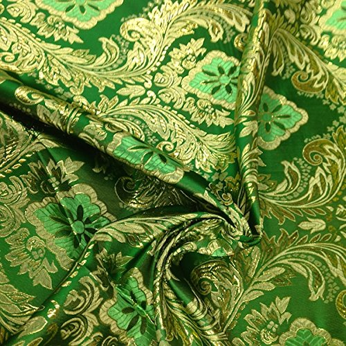 - Metallic Floral Brocade Fabric 60