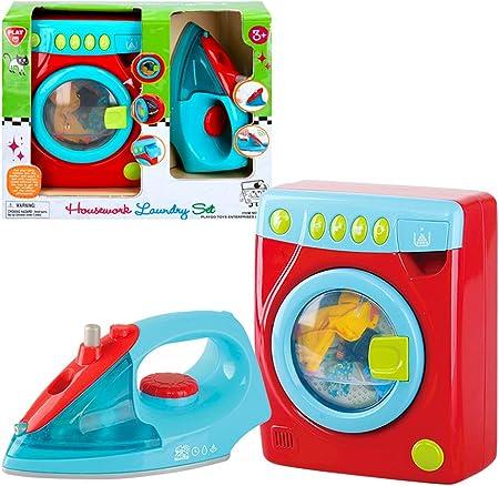 PlayGo - Set plancha y lavadora con luz y sonido (46412)