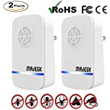 Ultrasonic Pest Repeller, Plug In Pest Repellent Control Reject Stop Roaches, Bugs, Ants, Spiders, Fleas, Mice, Mosquitoes, Insects, Rodents