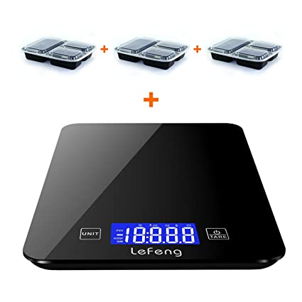 amazon com updated digital kitchen scale baking food scales grams