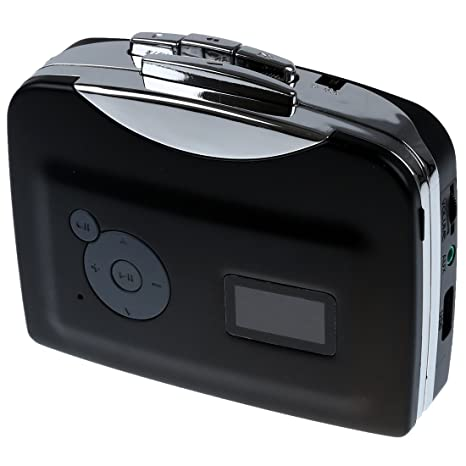 SODIAL(R) Portatil USB Casete a MP3 Conversor Captura directamente al disco flash USB