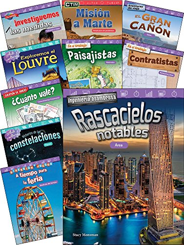 Measurement, Data and Geometry for Third Grade Spanish Set (Mathematics Readers) (Spanish Edition)