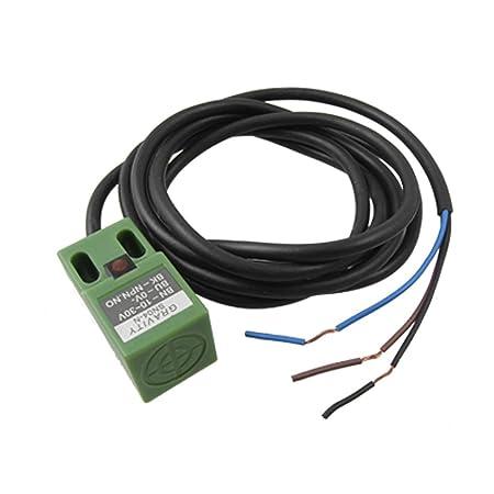 sn04 n dc 10 30v npn 3 wire 4mm approach sensor inductive proximity rh amazon co uk