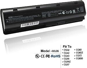Ankon MU06 MU09 Laptop Battery Replacement for HP 593553-001 593554-001 Battery, fits HP Presario CQ32 CQ42 CQ56 CQ62 CQ72 COMPAQ 435 436, HP 2000 430 431 435 630 631 635 636 Notebook PC Battery