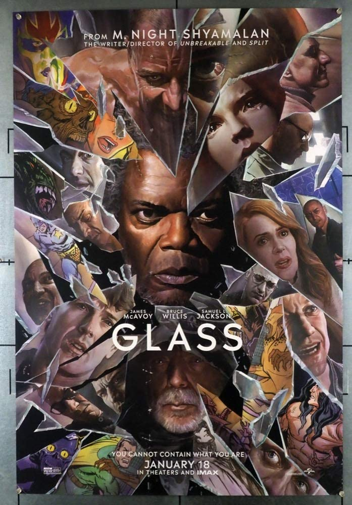 MCP737 Posters USA Glass 2019 Movie Poster Glossy Finish