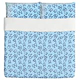 Unusual Love Duvet Bed Set 3 Piece Set Duvet Cover - 2 Pillow Shams - Luxury Microfiber, Soft, Breathable